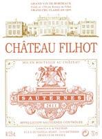 Chateau Filhot 2011
