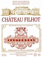 Chateau Filhot 2015
